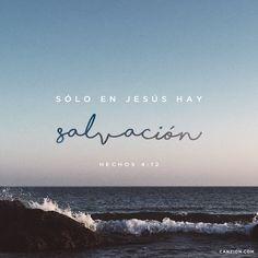 «¡En ningún otro hay salvación! Dios no ha dado ningún otro nombre bajo el cielo, mediante el cual podamos ser salvos». —Hechos 4:12