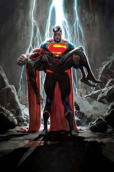 Supermen from across the DC Multiverse are being collected by a mysterious foe, which raises the question: Can you ever have too many Supermen? Answer: heck, no. A new arc begins in SUPERMAN #14!