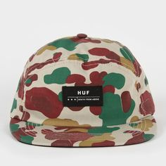 009346d645fb0 HUF Death From Above 6 Panel Volley Cap