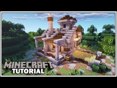 How to Build a Dwarven Starter House [Minecraft Tutorial] Minecraft Rp, Easy Minecraft Houses, Minecraft Medieval, Amazing Minecraft, Minecraft Decorations, Minecraft House Designs, Minecraft Construction, Minecraft Creations, Minecraft Crafts