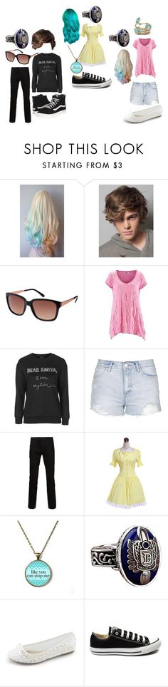 """""""The Devereaux's 3"""" by secretly-a-fangirl ❤ liked on Polyvore featuring Ted Baker, Topshop, PRPS, Converse and Vans"""
