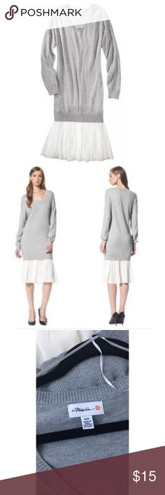 Phillip Lim for Target sweater dress Phillip Lim for Target|Gray sweater dress|Never Worn|Size M 3.1 Phillip Lim for Target Dresses Midi