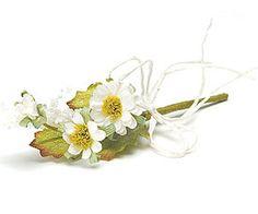 Cream Colored Natural Tied Mini Bouquet