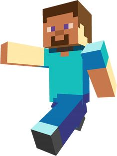 This Steve, the default character for Minecraft. I really am close with this guy, ha ha. Minecraft is a sandbox game by Mojang. Minecraft Clipart, Minecraft Png, Craft Minecraft, Video Minecraft, Minecraft Costumes, How To Play Minecraft, Minecraft Party, Minecraft Room, Minecraft Sword