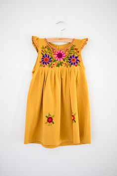 Lulu Dress is Marigold