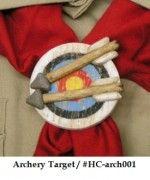 Boy Scout, Cub Scout, Leader, Archery Neckerchief Slide  ebay store: Scoutguy's Neckerchief Slides.  (iowascoutguy)