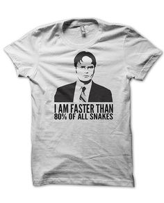 Dwight Schrute The Office  T Shirt by SunDogShirts on Etsy, $12.95