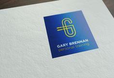 Category: Brand Identity, Logo Design & Advertising Design - Co, Clare, Ireland. Client: Gary Brennan Personal Trainer, Ennis, Co. Clare, Ireland. Identity Design, Brand Identity, Logo Design, Dublin, Clare Ireland, Branding, Fitness Brand, Advertising Design, Logos