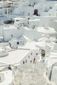 Looking for a white house, Oia, Santorini