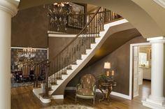Elegant Entries - contemporary - staircase - minneapolis - Modern Design LLC