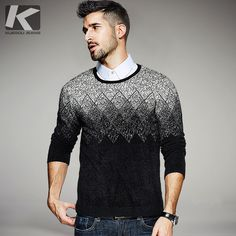 2017 Spring Mens Fashion Sweaters Patchwork Pattern Knitted Brand Clothing Man's Slim Knitwear Pullovers Male Knitting Clothes