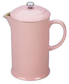 Pink French Press  Amazon.com: Le Creuset Stoneware 27-Ounce French Press, Hibiscus: Kitchen & Dining