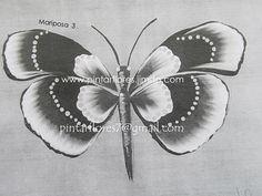 Dandelion, Flowers, Plants, Butterflies, Stencils, Patrones, Dandelions, Flora, Royal Icing Flowers