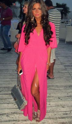 This look is so me! Loving the pink <3