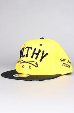 The Filthy Chenille Snapback in Yellow by TRUKFIT 99aeec54cdc3