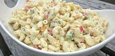 Μακαρονοσαλάτα με μαγιονέζα Lunch Recipes, Cooking Recipes, Pasta Salad, Potato Salad, Macaroni And Cheese, Salads, Bakery, Food And Drink, Appetizers