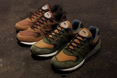 Check out the two offerings that make up the mita sneakers x New Balance 20th Anniversary 580 Pack.