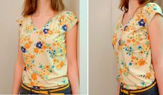 four square walls: floral knit top: because i can