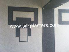 SILK PLASTER : Black&White | Flickr - Photo Sharing! Silk Plaster, Company Logo, Black And White, Home Decor, Art, Wall, Texture, Black White, Homemade Home Decor