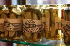 Brooklyn pickles.