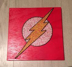Flash String Art by ArtByAck on Etsy