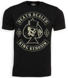 King Kerosin Death Dealer Regular T-Shirt Black