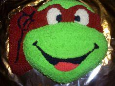 Ninja Turtle Cake Victoriacakes Deviantart cakepins.com