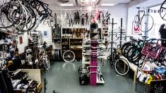 Caffee, Gwand und Radln? Besuch im Concept Store Block 44 Boutique, Stationary, Gym Equipment, Bike, Bicycle, Bicycles, Workout Equipment, Boutiques