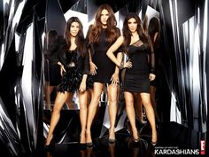 I have to admit that I've become obsessed with all of the Kardashian TV shows...