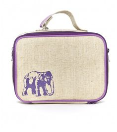 This lunchbox is adorable! Not just for kids ;) Elephant Lunchbox