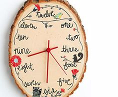 Make Some Time…Literally! DIY Wood Slice Clock