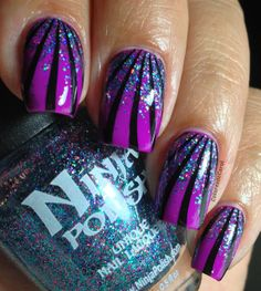 Essie - DJ Play That Song and Ninja Polish - Sexy and I Know It Ninja Nail Polish Lacquer Floam Holographic metallic effect nail polish @opulentnails #ninjanails #floam