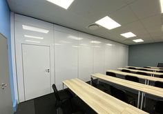 Specialised Glazing and Acoustic Solutions at ATNS OR Tambo Frameless Shower Doors, Acoustic, Furniture, Home Decor, Decoration Home, Room Decor, Home Furnishings, Home Interior Design, Home Decoration