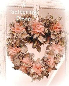~SHABBY COTTAGE CHIC WONDERFUL..A Christmas Wreath Tutorial~