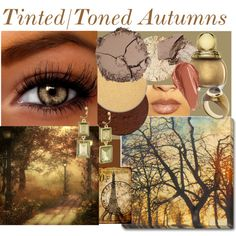 Eye Color Inspirations-Soft Autumns by prettyyourworld on Polyvore featuring art