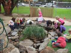 early learning outdoor environments | let the children play: reggio-inspired learning environments part 1