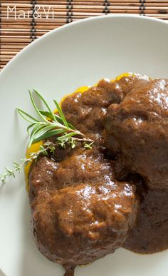 Como preparar carrilleras de cerdo al vino tinto Steak Recipes, Cooking Recipes, Healthy Recipes, Meat Steak, Mexican Cooking, Everyday Food, Italian Recipes, Tapas, Food To Make