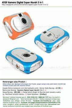 A1159 Kamera Digital Super Murah 3 in 1