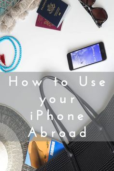 The ultimate travel tip : How to use your iPhone abroad inexpensively. Ever wonder how to avoid those expensive roaming charges when traveling overseas? Use these helpful tips and you'll be traveling with your phone like a pro. Click through to read the full post!
