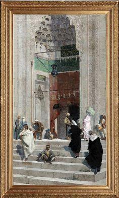 osman hamdi bey cami önü