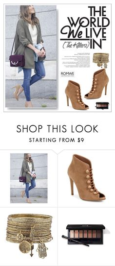 """""""romwe"""" by perfex ❤ liked on Polyvore featuring Gianvito Rossi"""