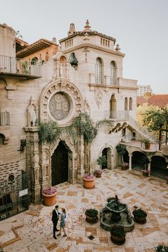 Mission Inn Riverside engagement session; Photography by Joel & Justyna Bedford