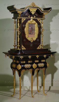 cabinet japonais lievre detaille 1877 musée d'orsay