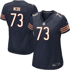 9467bce509a Nike Chicago Bears J Marcus Webb Limited Jersey Women Navy Blue  73 Team  Color NFL Jerseys Sale nfl jersey mashups