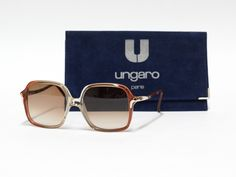 Vintage Sunglasses by Ungaro Paris - pinned by pin4etsy.com
