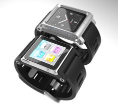 TikTok+LunaTik Multi-Touch Watch Kits ~ One of the most innovative hi-tech wristbands.