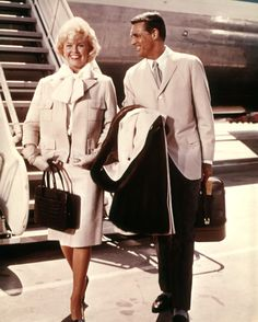 Doris Day and Cary Grant