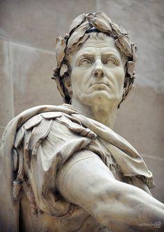 Julius Caesar // Nicolas Coustou, Musée du Louvre, Paris
