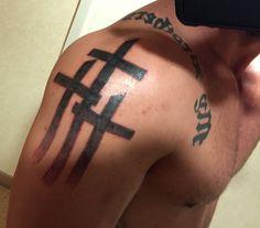 Three crosses- hot off the press