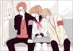 Brothers Conflict - Yusuke, Futo and Ema